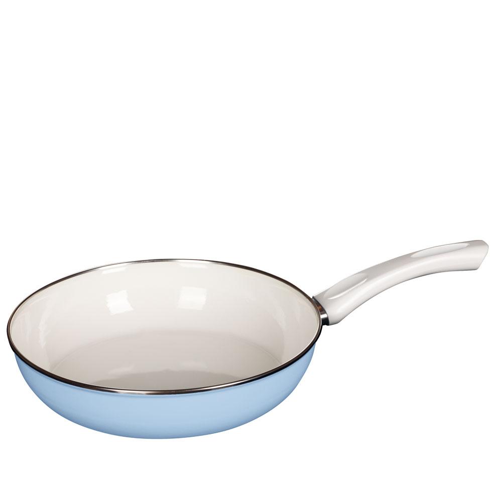 Ceramicglas pan BLUE  28