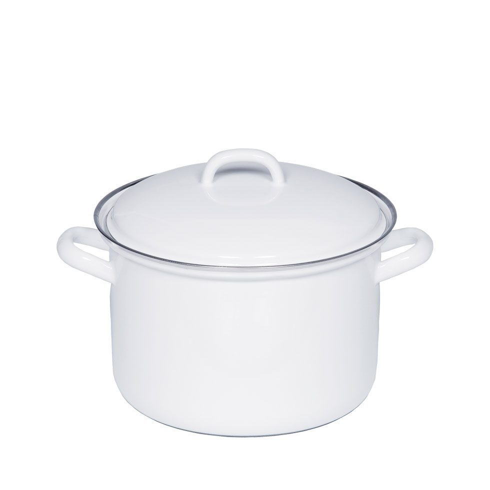 Stewpot with lid 18