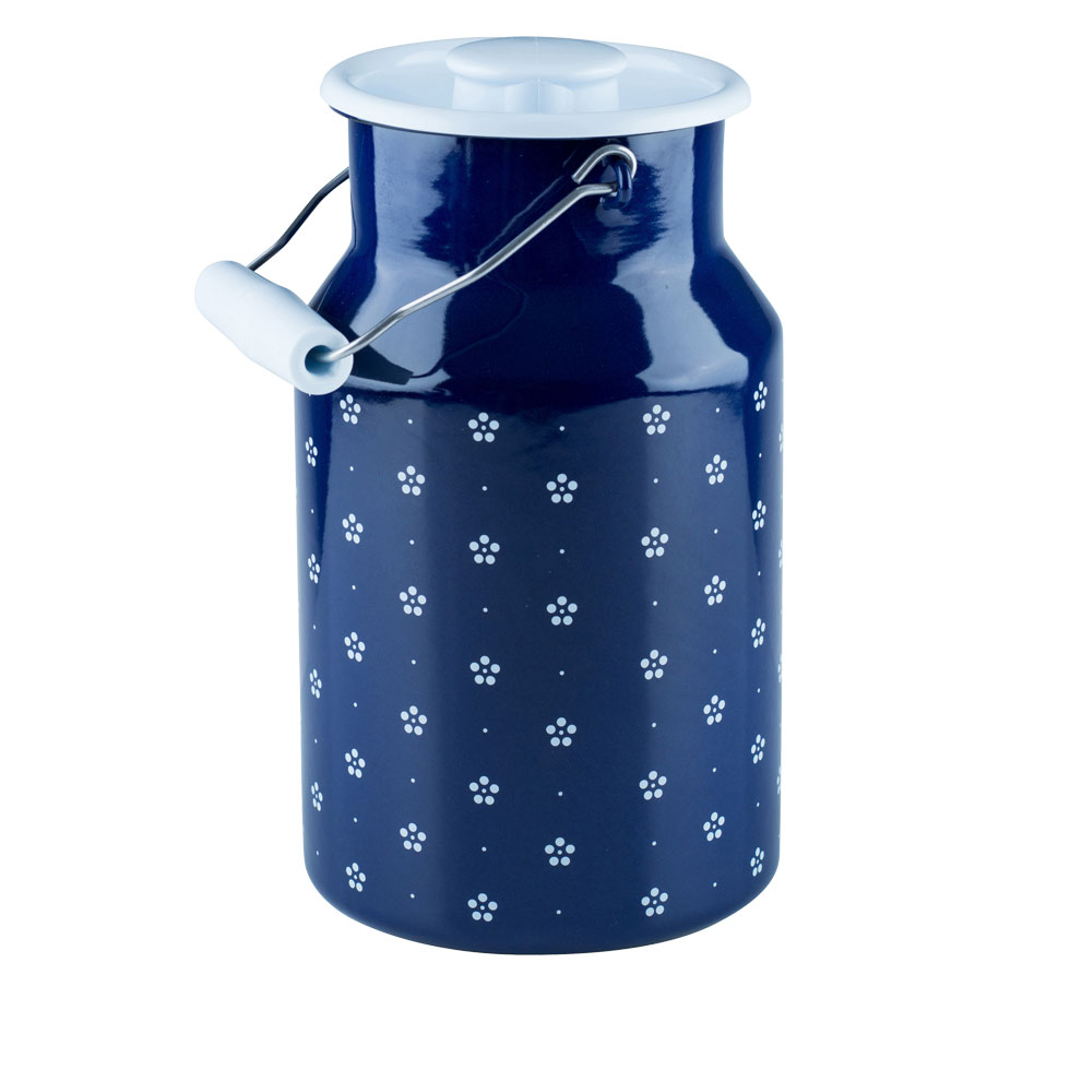 Milk can with lid 2.00l