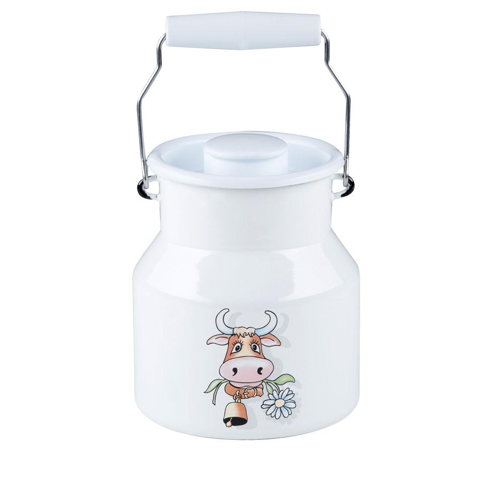 Milchkanne mit Deckel 1,00 l