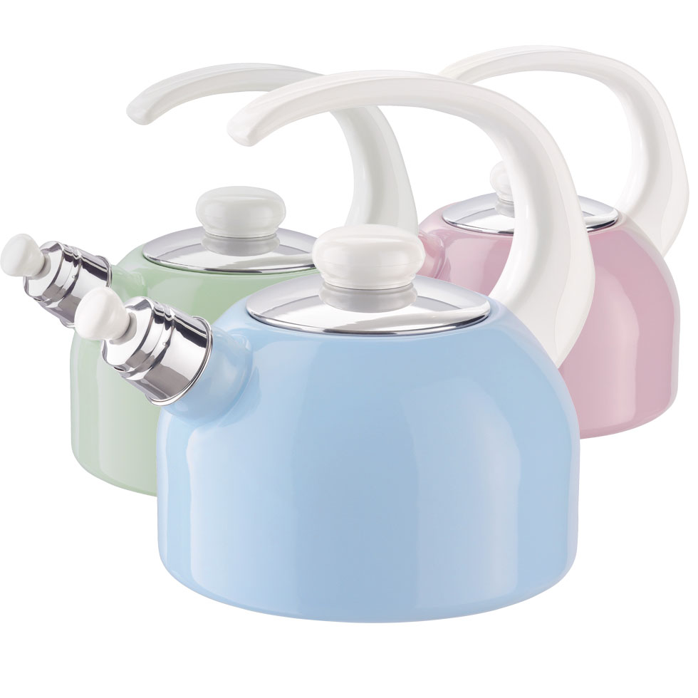 Whistling kettle 18 2,00l – Assorted colours