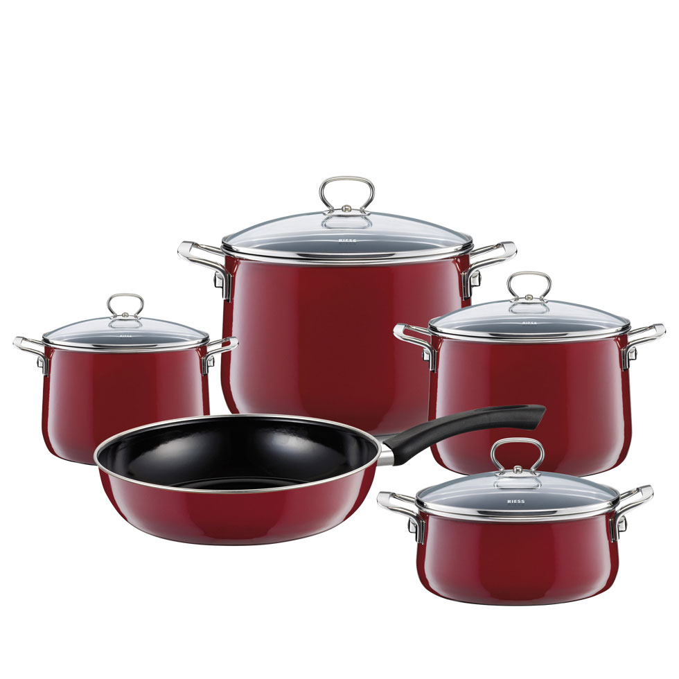 5-part cookware set