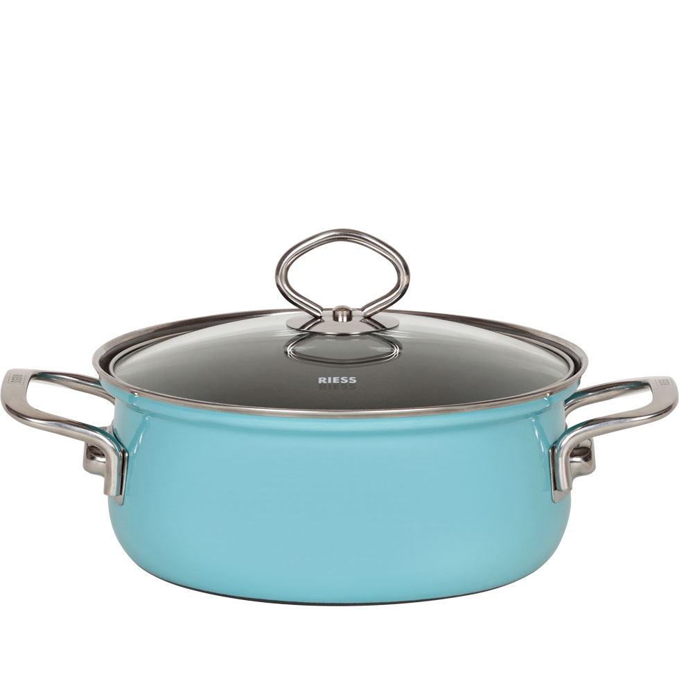 Casserole with glass lid 24  4.00 l