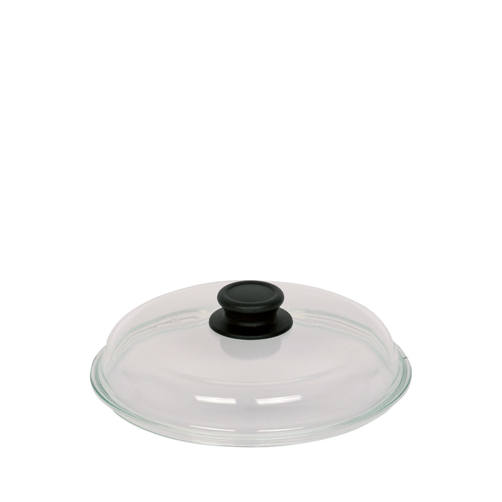 High-sided glass lid für pan 20