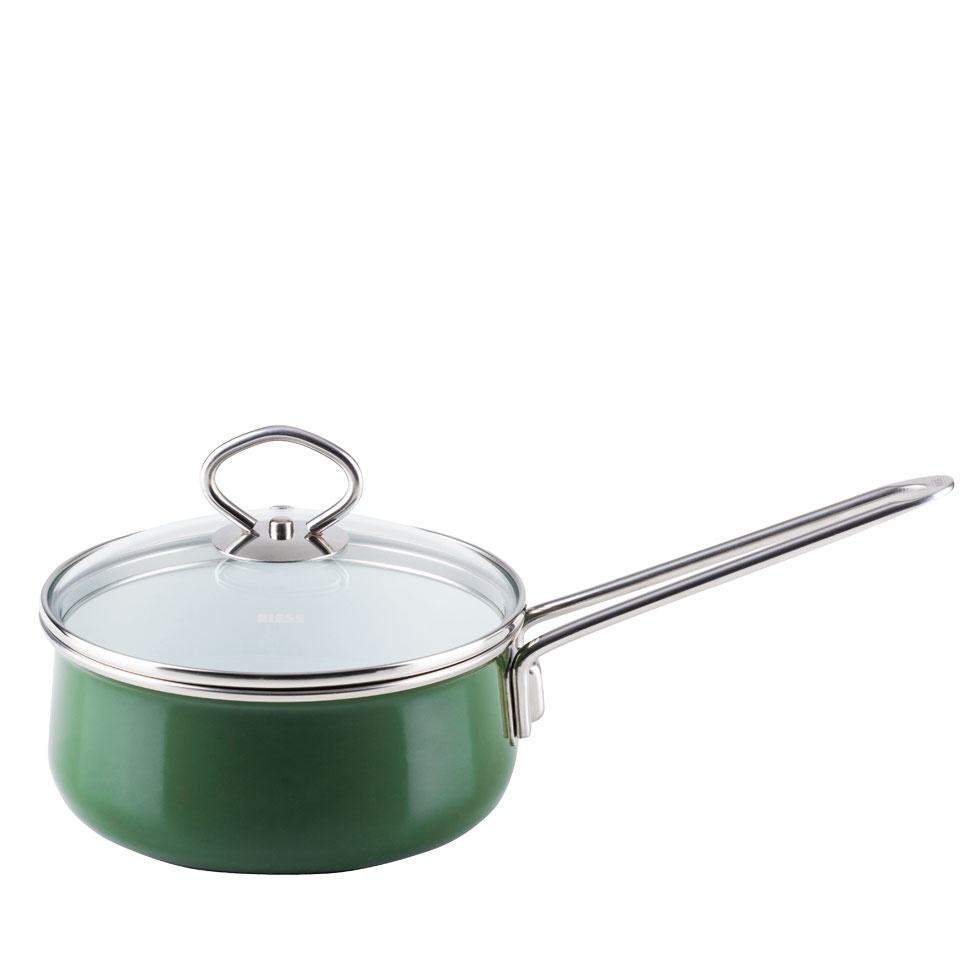 Stielkasserolle mit Glasdeckel  16  1,00 l