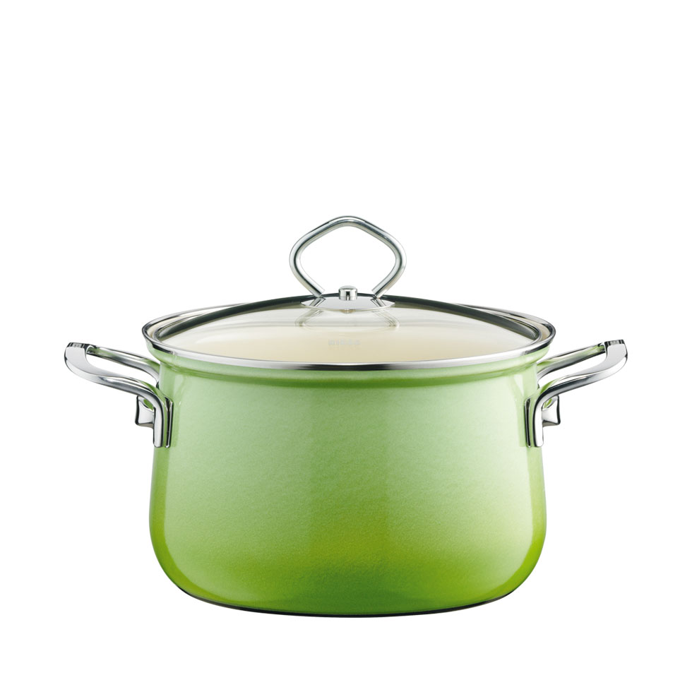 Stewpot with glass lid  18  2.50 l