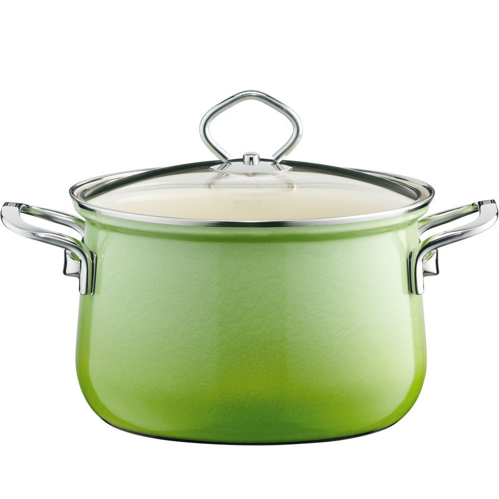 Stewpot with glass lid 24  6.00 l
