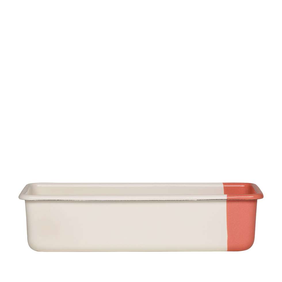 Loaf-cake tin Cream/Peach