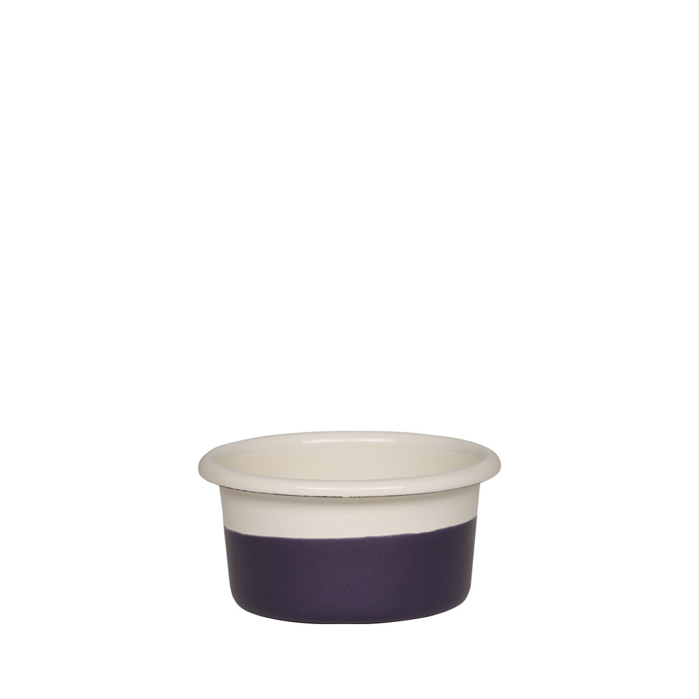 Muffin tin Ø8 Cream/Plum