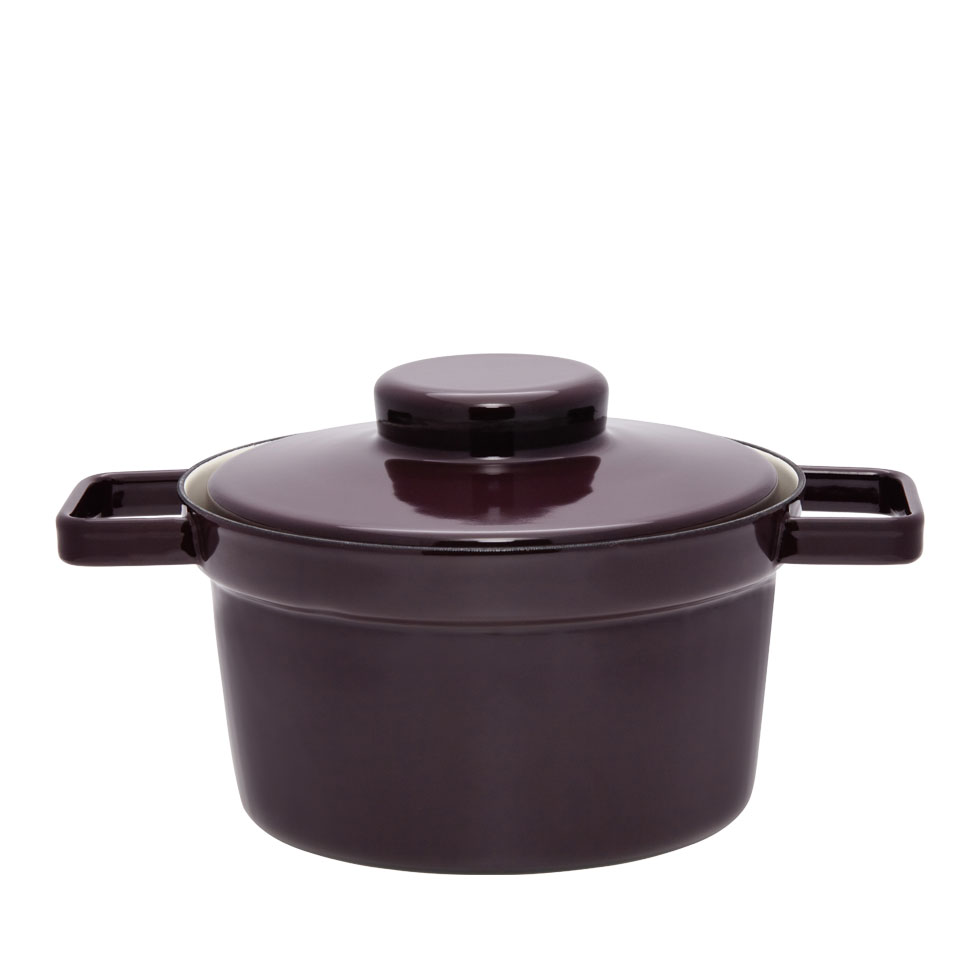 Pot  Ø20 Dark Aubergine