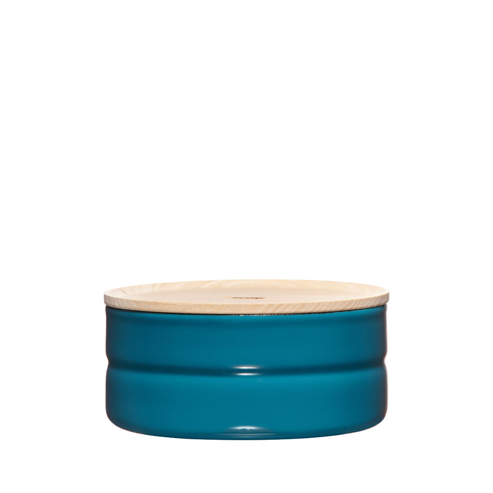 Dry food storage container Ø13 Silent Blue