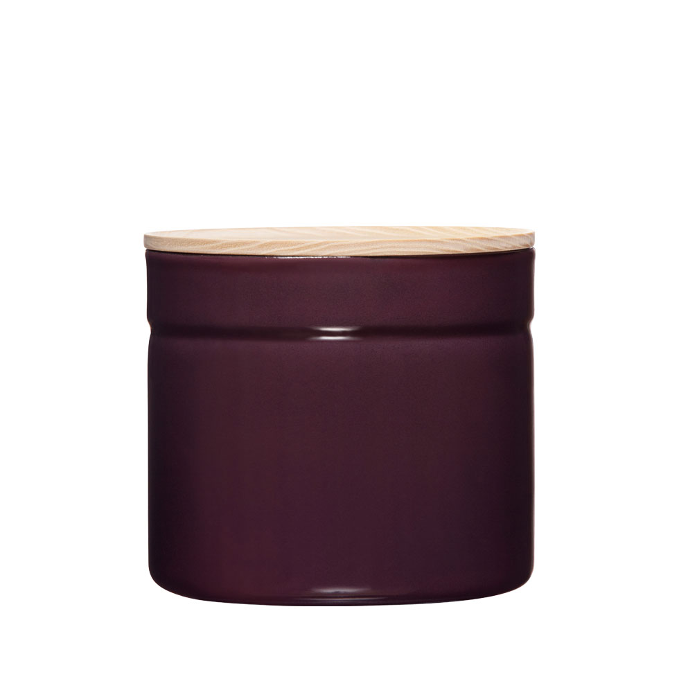 Dry food storage container Ø13 Dark Aubergine