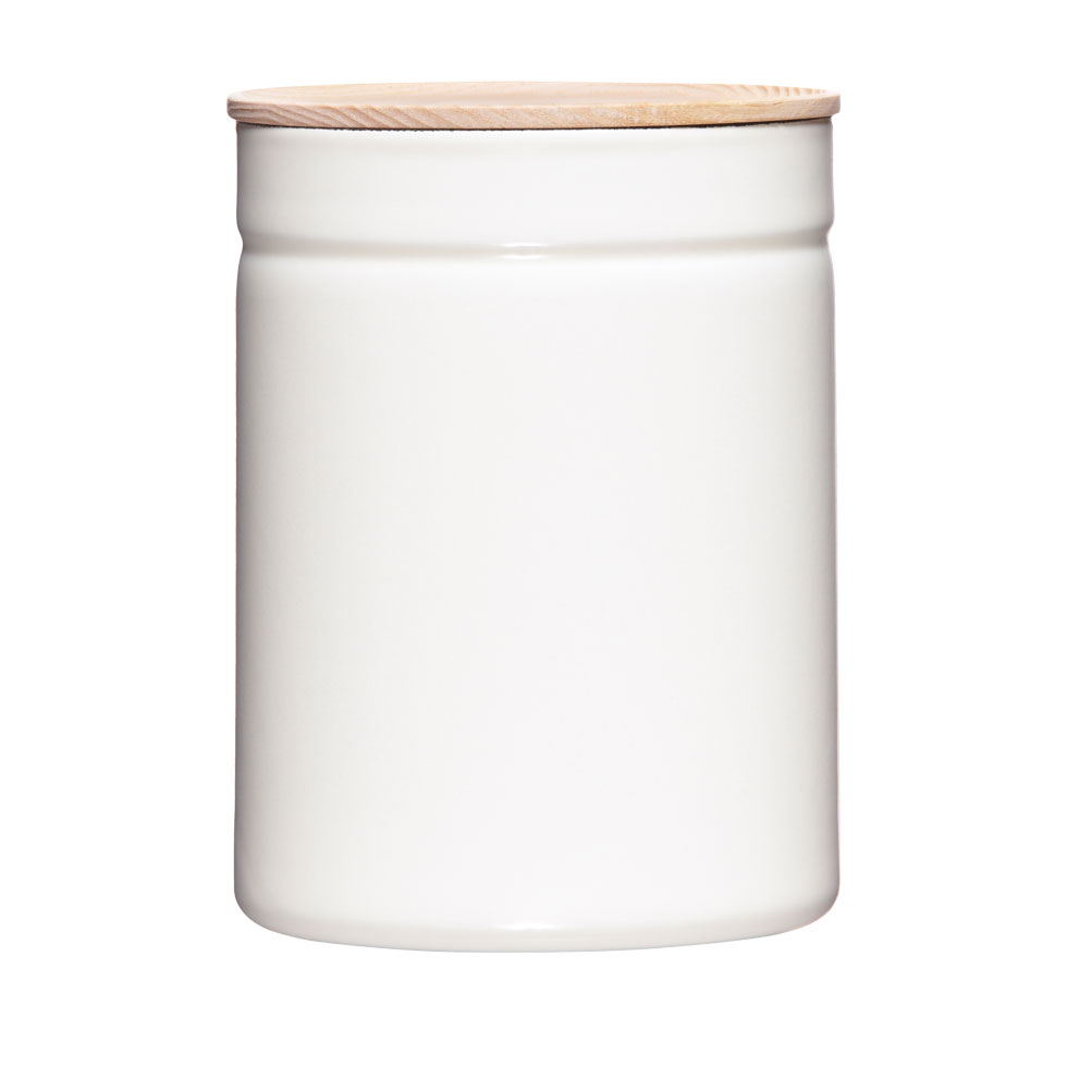 Dry food storage container Ø13 Pure White