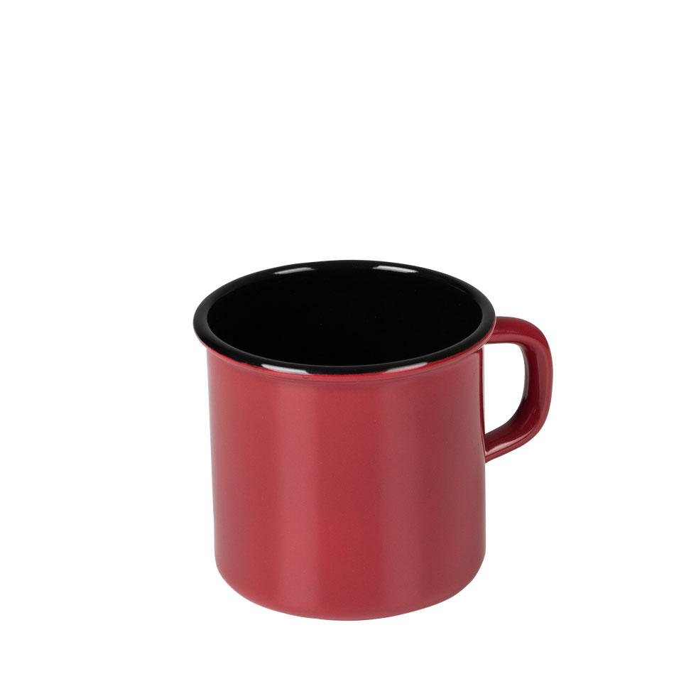 Topf mit Bördel (Becher) 8 3/8l – Color Rot