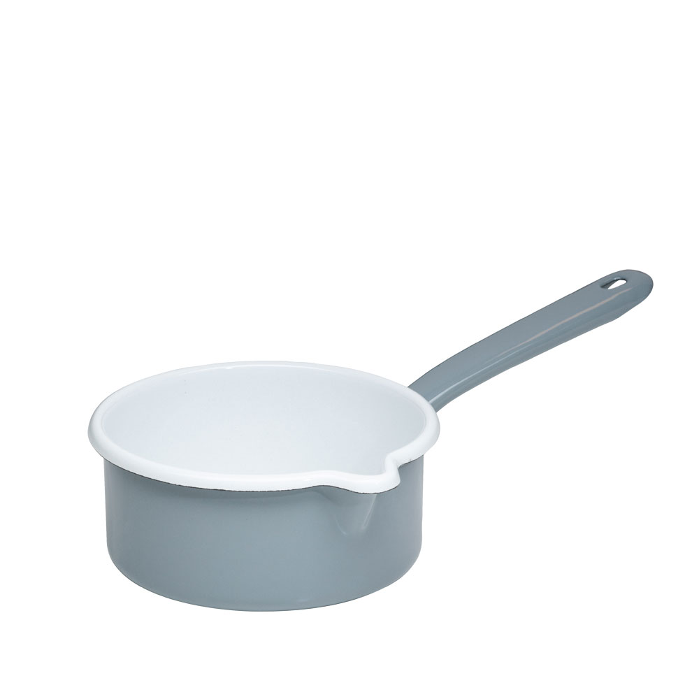 Saucepan with large spout 14 0.75 l -Pure Grey