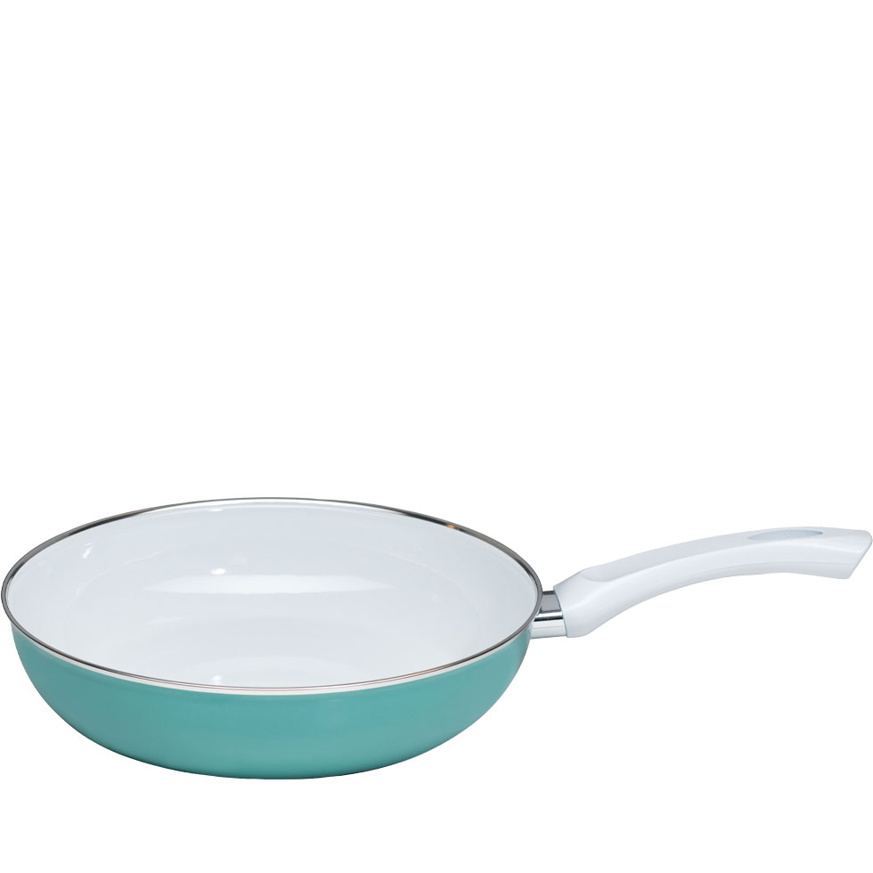 Extra strong enamel pan 28 – Nouvelle – Nature Green