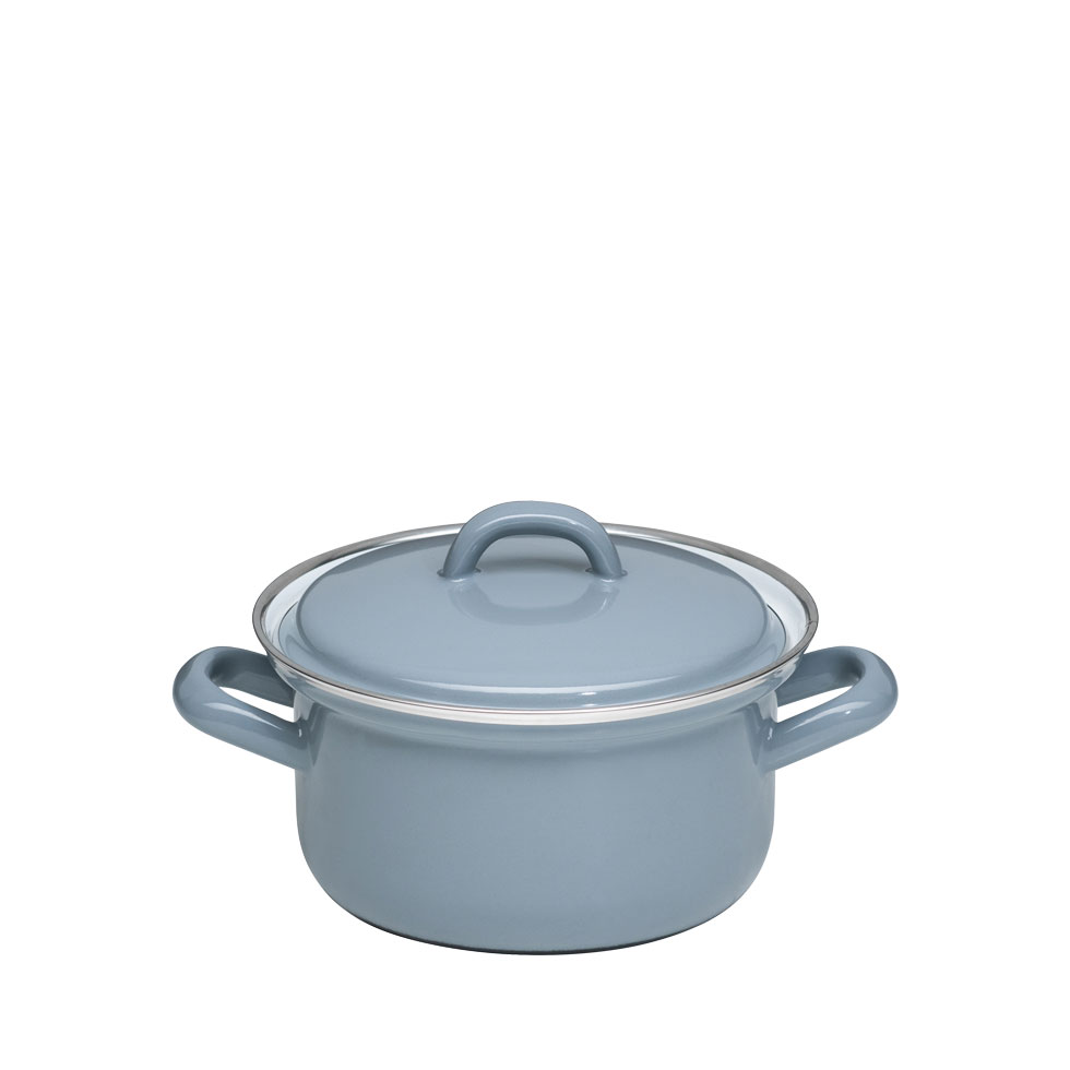 Casserole with lid 14 – Pure Grey