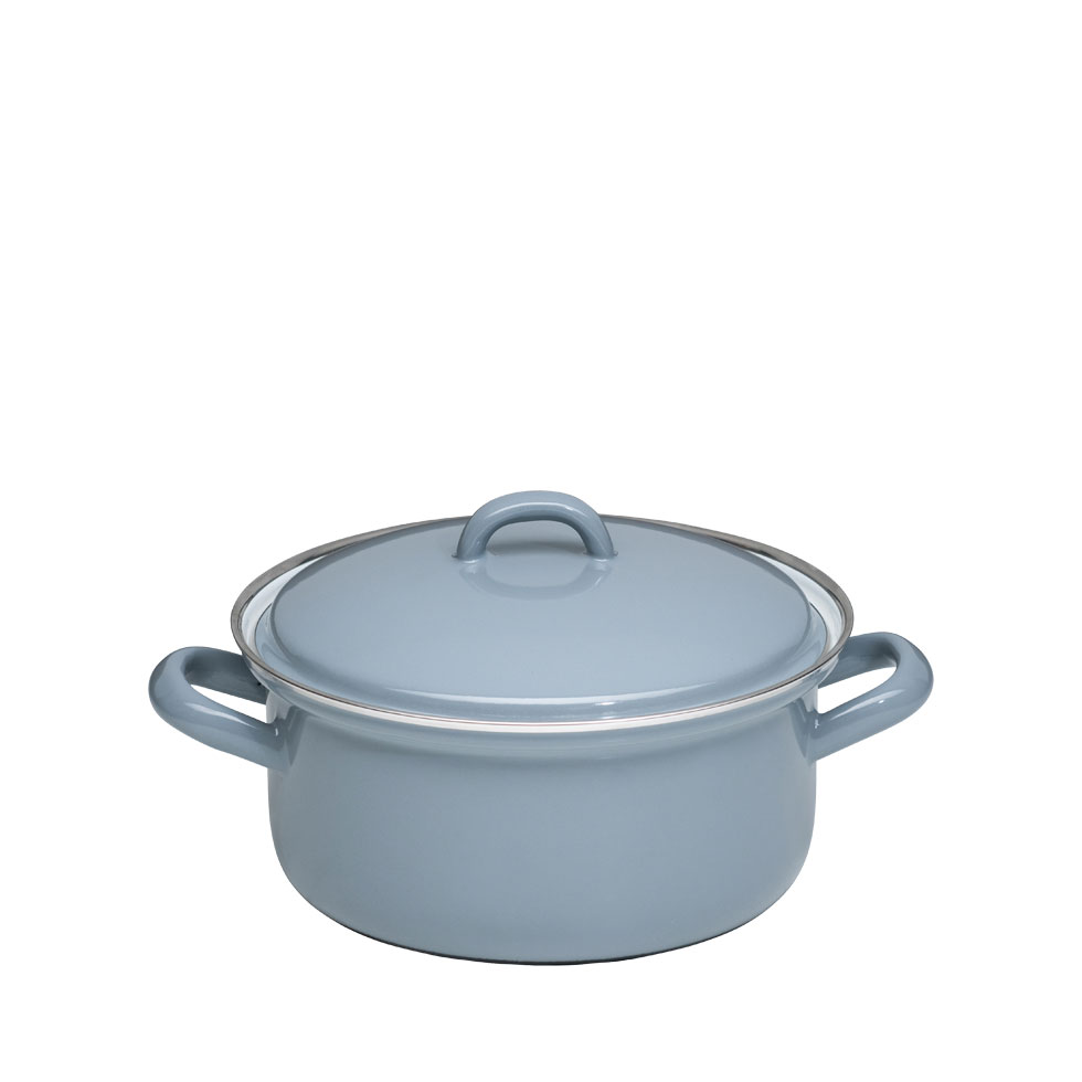 Casserole with lid 16 – Pure Grey
