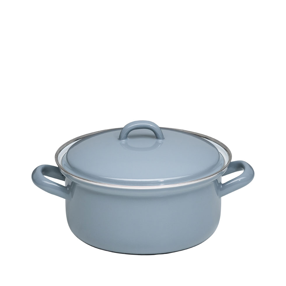 Casserole with lid 18 – Pure Grey