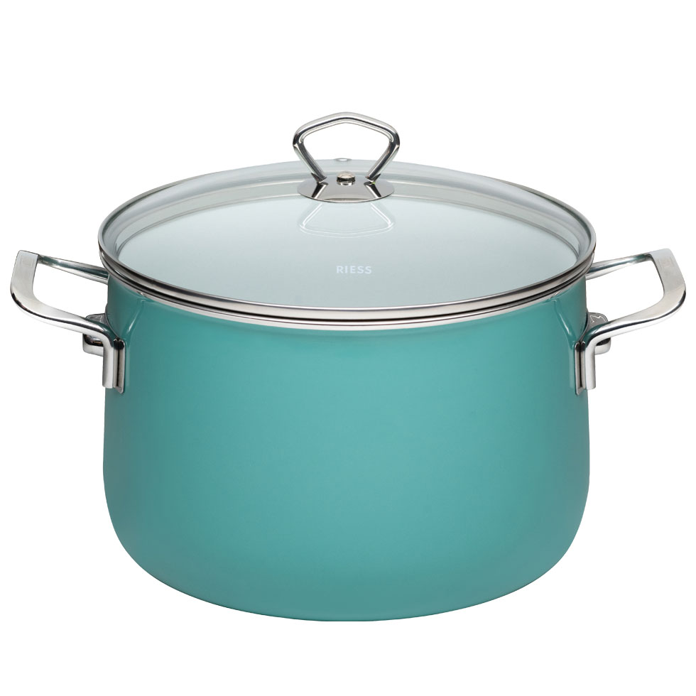 Stewpot with glass lid  24  6.50 l – Nouvelle – Nature Green