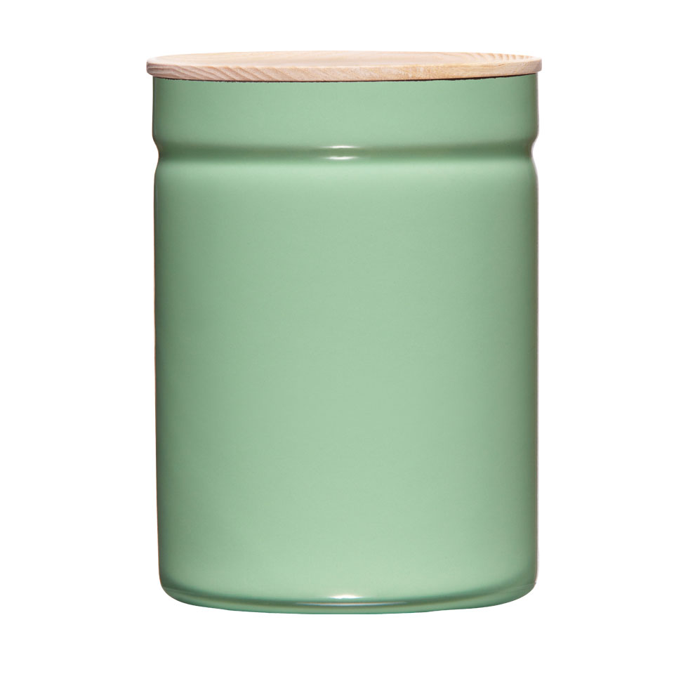 Dry food storage container Ø13 Slow Green