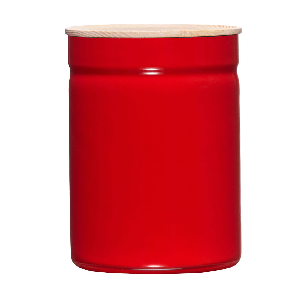 Dry food storage container Ø13 Fresh Tomato