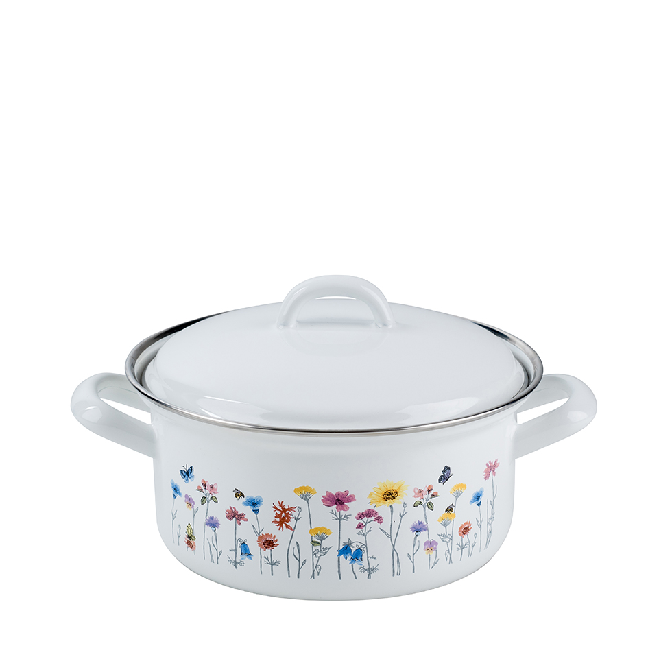 Casserole with lid 18