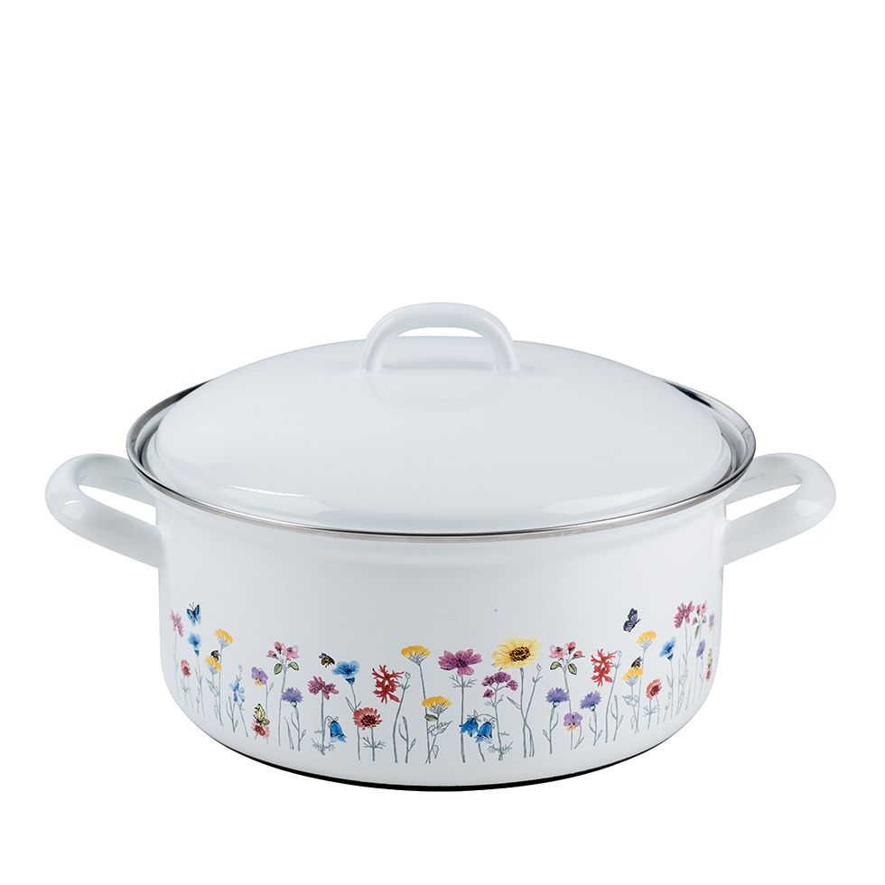 Casserole with lid 20 – Pure Grey