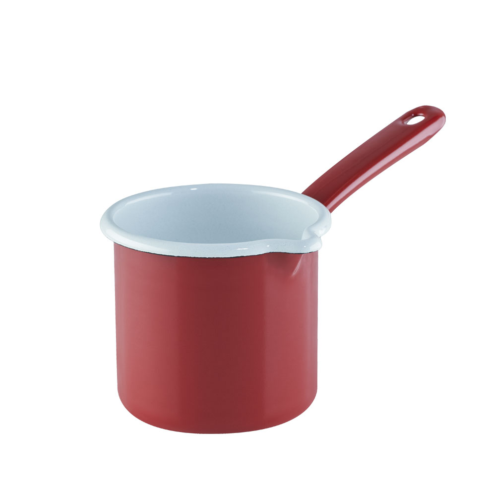 Milk pan with long handle 10 0.75 l